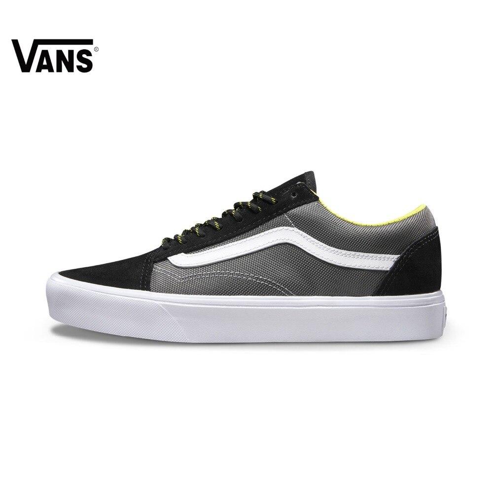 Genuine Vans Sneakers Low-top Trainers Men Sports Skateboarding Shoes Flat Breathable Classic Canvas Vans Shoes for Men Designer