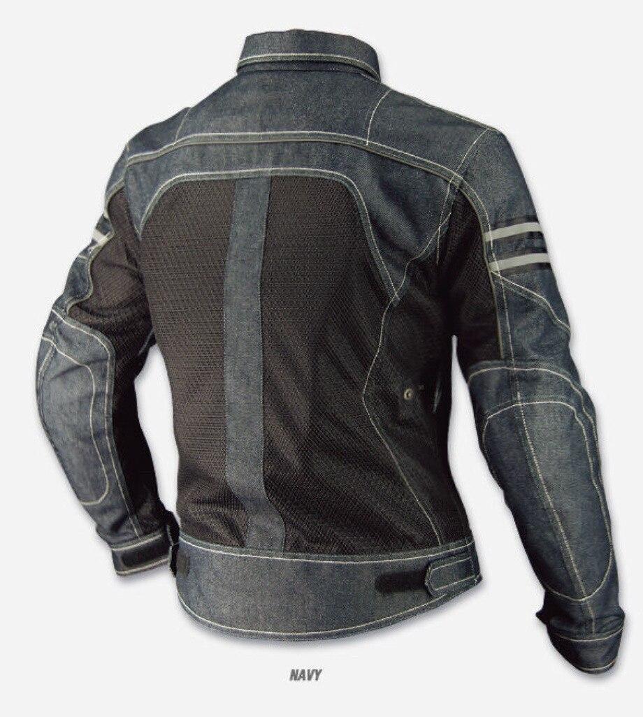 JK-006 Vintage Denim Mesh Jacket 3