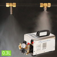 High Pressure Water Pump Sprayer PC 2801B Watering & Irrigation Sprayer 0.3L Misting System Fog Watering Pumps With Time Control