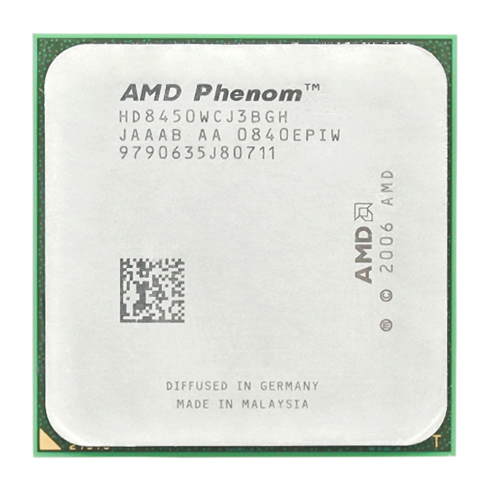 AMD Phenom X3 8450 Triple-Core DeskTop 2.1GHz CPU Socket AM2+/940pin