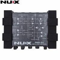 NUX PMX 2U USB I O Line Mixer