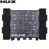 NUX PMX-2U USB I/O Line Mixer USB Audio Interface for Electric Guitar Bass