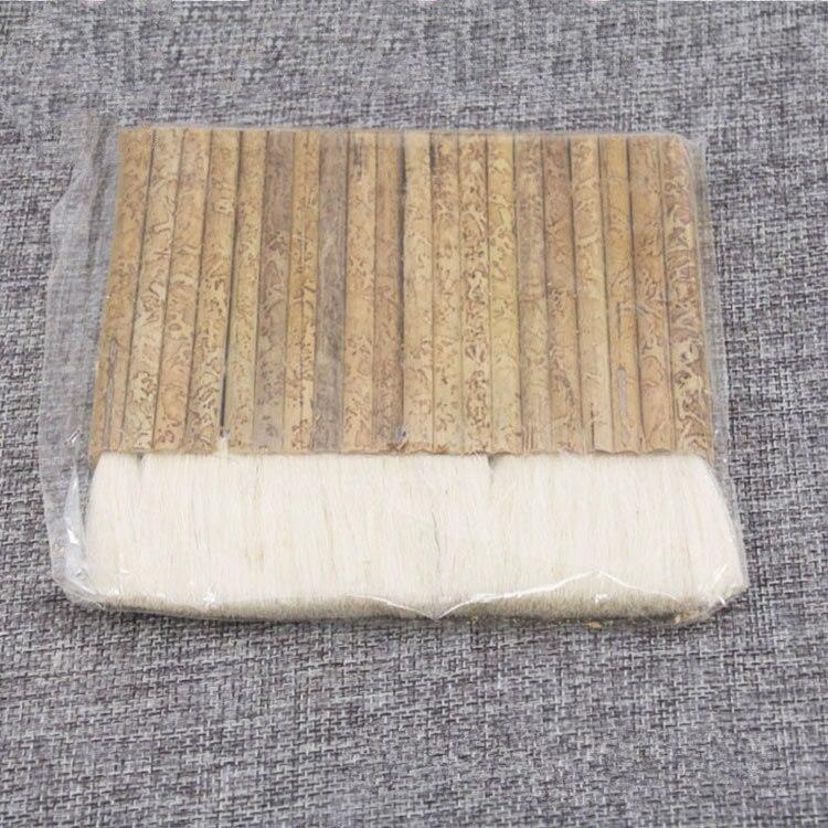 Large Wool Hair Brush Manual Mounting Row Brush Paste Handmade Brush Barbecue Painting Brush