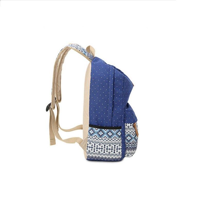 b6dde7425c80 ... you leave Neutral or Negative feedback About 3 pcs vintage school bags  for girls kids bag canvas backpack women bagpack children backpacks dot  shoulder ...