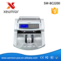 Cash Money Bill Counter with UV+MG+IR+DD Detection EU-1160T,Money Counting Machine Financial Equipment Wholesale