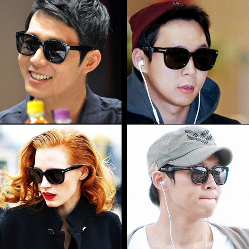 5f542a7443 2018 Square James Bond Sunglasses Men Brand Designer GlassesWomen Super  Star Celebrity Driving Sunglasses Tom for Men Eyeglasses-in Sunglasses from  Apparel ...