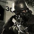 Cráneo M04 Ventilador Del Aire Acondicionado de Gas Bioquímica Máscara de Paintball Equipo Militar Del Ejército de Airsoft Máscara Macka Respirador Máscara