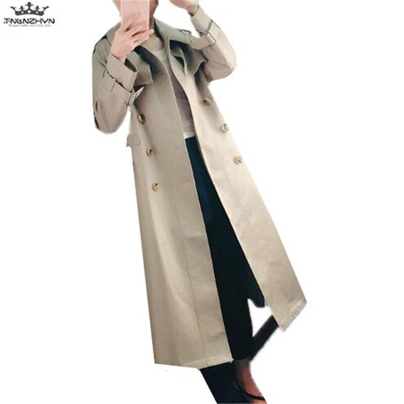 Tranchée Double 2019 Manteaux Femmes Survêtement Nouvelles Y912 Automne Coupe Moyen Femelle Picture Color Boutonnage vent Manteau Tnlnzhyn Printemps Long dXxq0qg