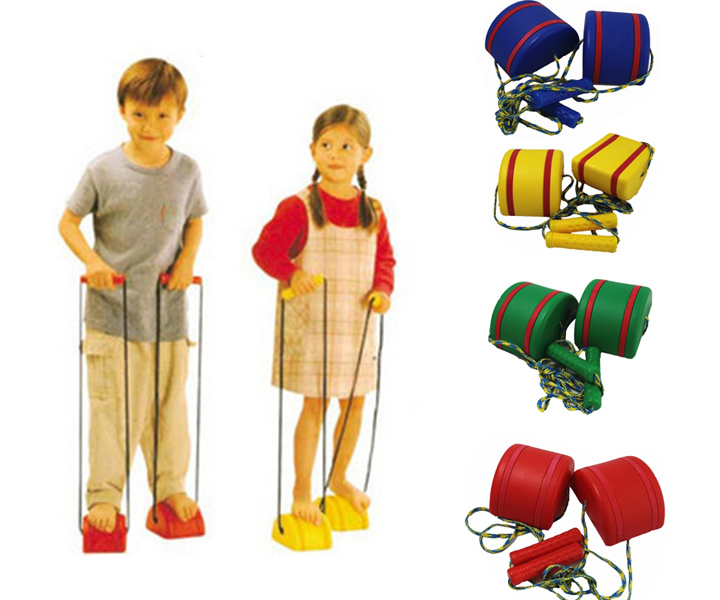 Stepping Stones Walking Stilts Sensory Integration Balance Sport Toys For Kids Games For Children Outdoor Activity