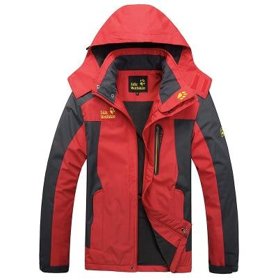 2018 Winter Jacket Men Thick Windproof Hood parka mens jackets and coats Windbreaker Outdoorsport Coat Jaqueta masculina