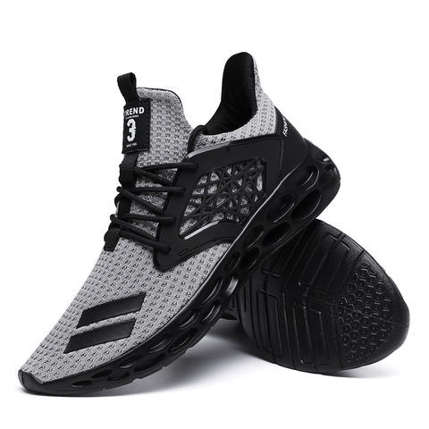 New Spring 2019 Hot sale Comfortable Running Sports For Men Outdoors Activities trainers Wear-Resistant Breathable man Sneakers Multan