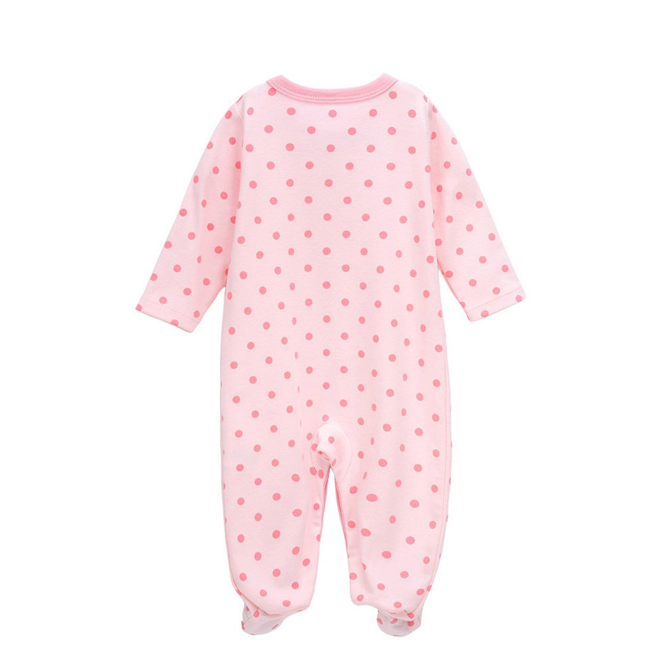4 Pcs set tender Babies fashion romper girl cotton clothes newborn roupa infantil jumpsuit long sleeve baby onesie in Rompers from Mother Kids