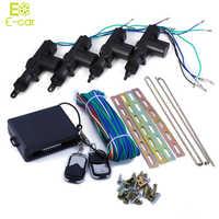 360 Degree Rotation Universal Car Auto Remote Central Alarm Security Kit 4 Door Bracket Locking Keyless Entry System wholesale
