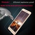 De calidad superior 9 h vidrio templado 2.5d para xiaomi redmi 3 3 s redmi note 3 pro 2 mi 5 4c 4i 4 s teléfono film protector de pantalla