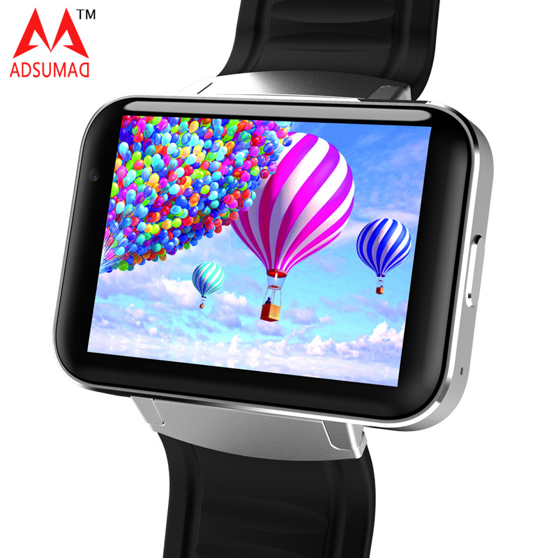 Android Smart Watch Phone DM98 MTK6572 big screen Dual Core OS 3G WIFI GPS Support SIM card Bluetooth 4.0 Smartwatch WCDMA 9100 4 1 capacitive screen android 2 3 dual sim 3g wcdma smartphone w wi fi gps black