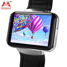 5 pcs Android Smart Watch Phone DM98 MTK6572 big screen Dual Core OS 3G WIFI GPS Support SIM card Bluetooth 4.0 Smartwatch WCDMA(China)