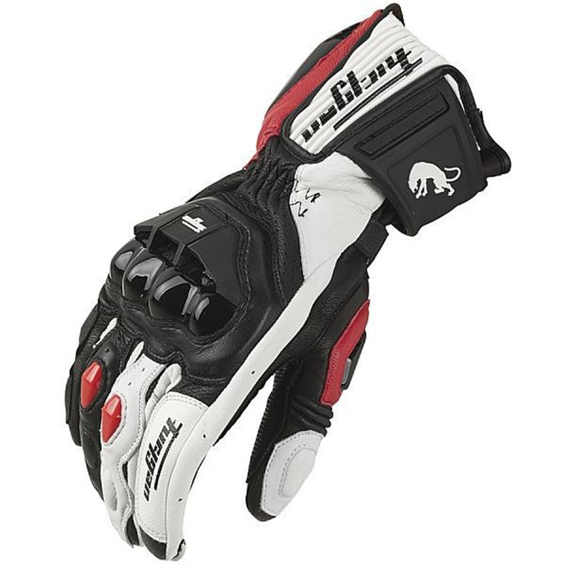 Brand SSPEC full finger Breathable Furygan AFS18 Motorcycle Gloves Moto Carbon Fiber Guante Para Leather racing