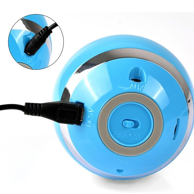 Round Cube Bluetooth Hands-Free Wireless Portable Speaker