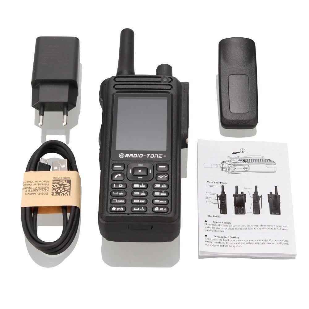 Radio-tone 2.4inch RT4 4G LTE Wifi PTT Zello Azetti Smartphone Android 6.0 Walkie-talkie Smartphone
