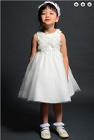 free shipping flower girl dresses for weddings 2013 party gowns communion white dress kids christmas pageant dresses for girls