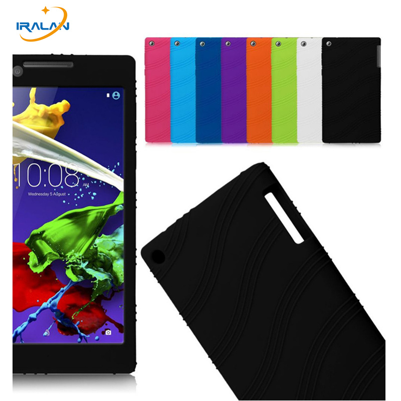 Slim Soft Silicone Skin Protective Shell Case Cover For Lenovo Tab 2 A7-30 Tablet case for Lenovo Tab 2 A3300tc 7+Stylus Pen new slim folio bracket for lenovo a7 20f standing tablet cover for lenovo tab 2 a7 20 flip protective tablet case