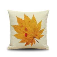 Cotton Flax/linen pillow case Home decoration 45*45cm flower