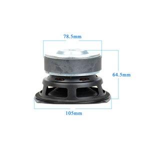 Image 3 - Aiyima 1 pc 4 polegada hi fi 8ohm/4ohm subwoofer alto falante de áudio super baixo woofer alto falante 40 w alto falante de alta potência