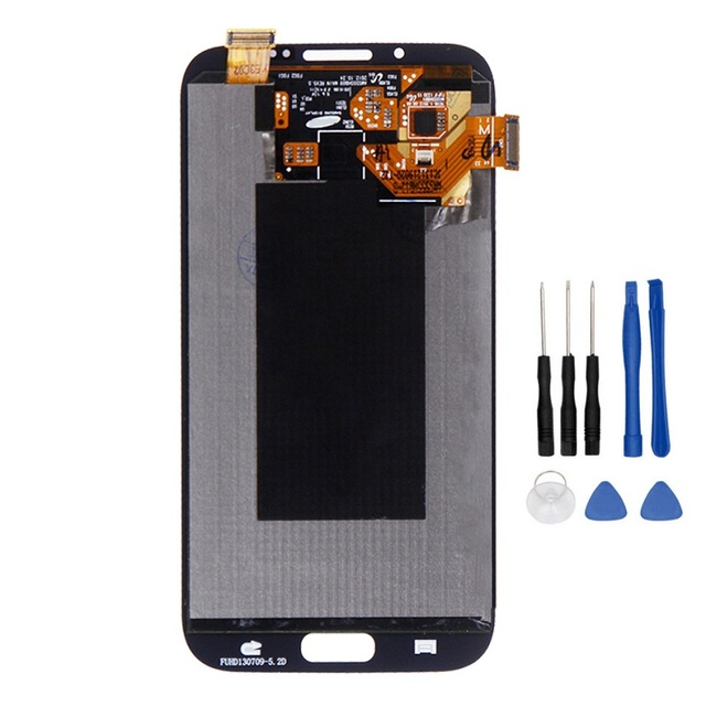 100% Tested High Quality for Samsung GALAXY Note 2 N7100 N7105 LCD Display+Touch Screen Digitizer Assembly+Tools
