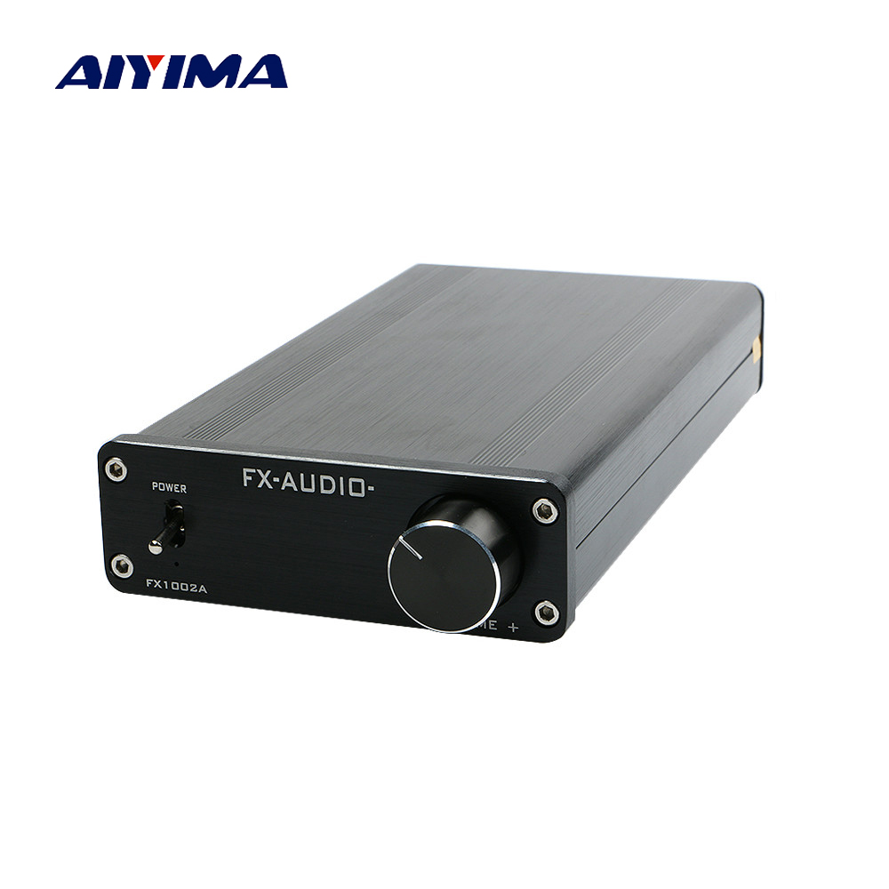 все цены на Aiyima 160W*2 TDA7498E TL082 Digital Audio Amplifier High Power Dual Channel Amplificador DIY Sound System Speaker Home Theater онлайн