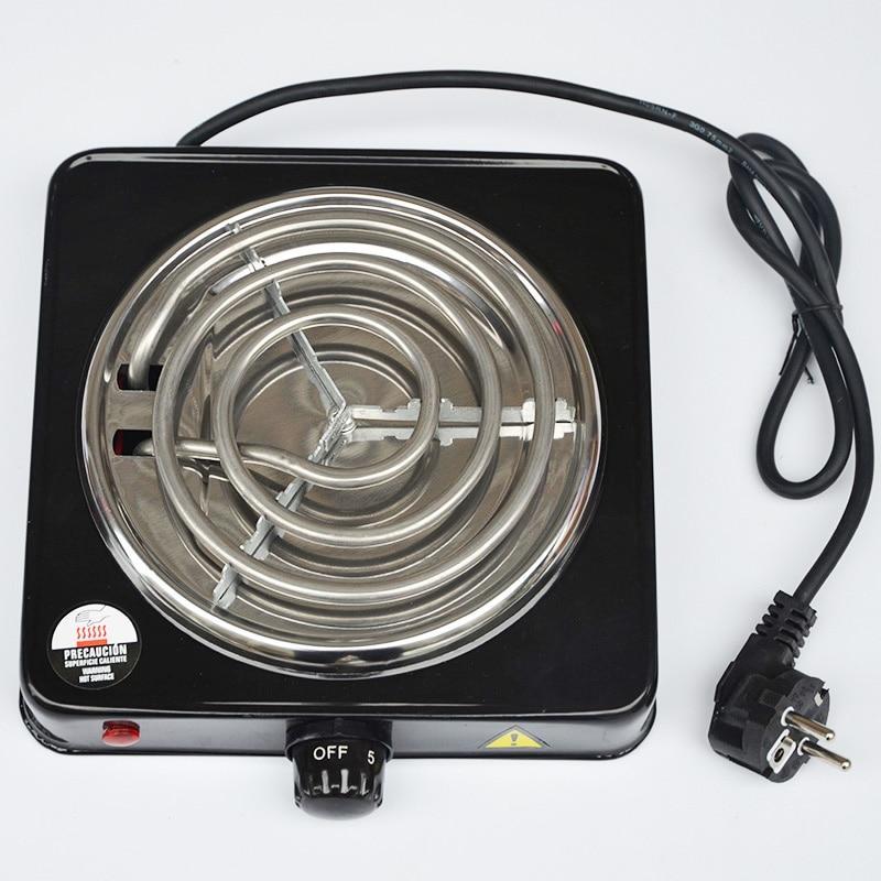 Shisha Hookah Burner Electric stove 220V 1000w Hot Plate kitchen cooking coffee heater chicha nargile smoking pipes charcoal(China)