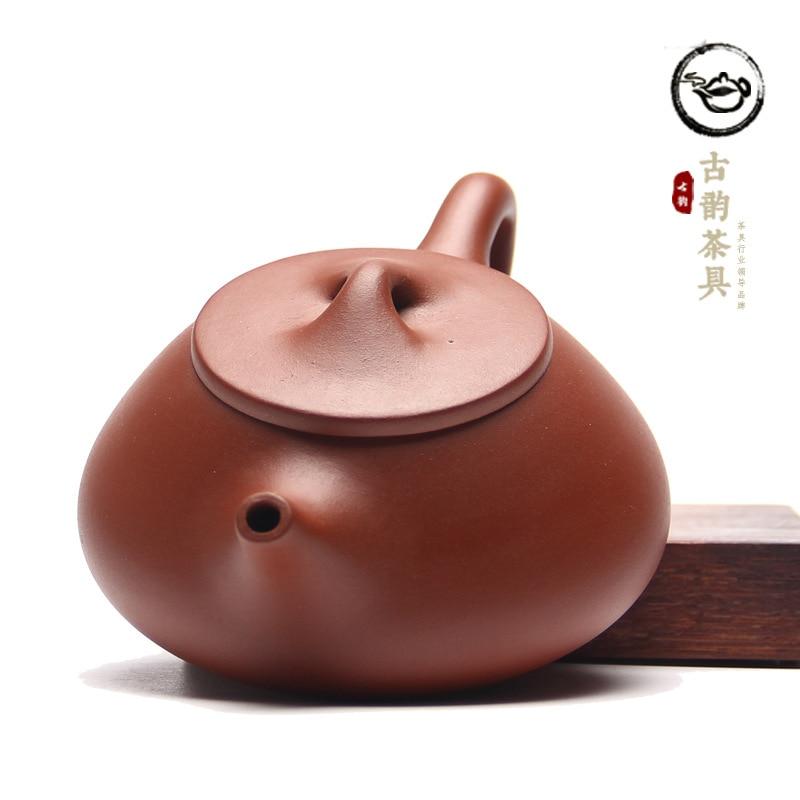 """""""Yixing"""" geros kokybės violetinio molio arbatinuko rinkinys - Virtuvė, valgomasis ir baras - Nuotrauka 3"""