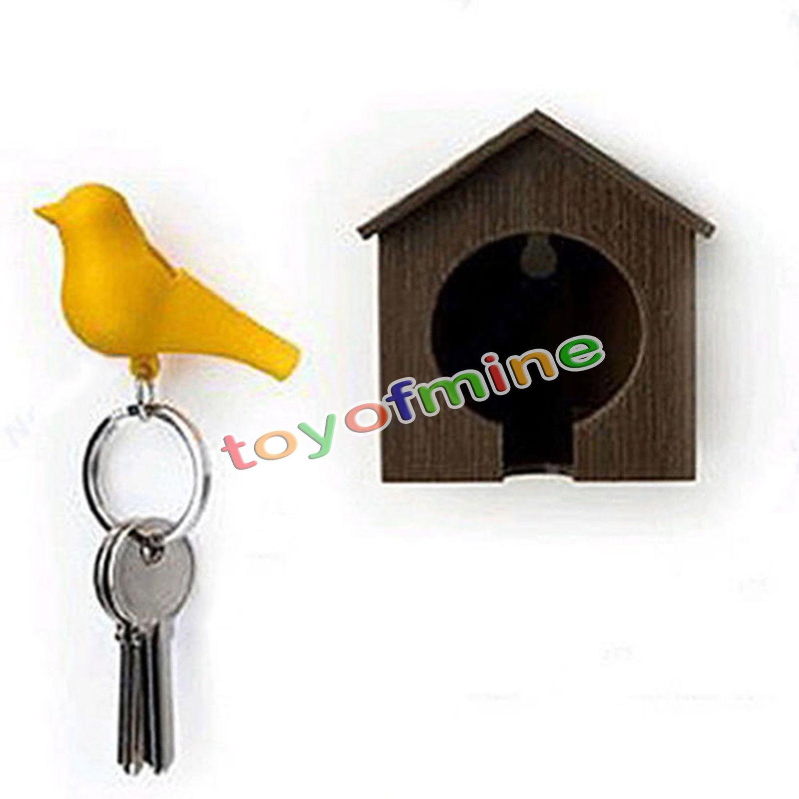 Key Holder For Wall Aliexpresscom Buy Fashion Plastic Whistle Home House Birds Nest