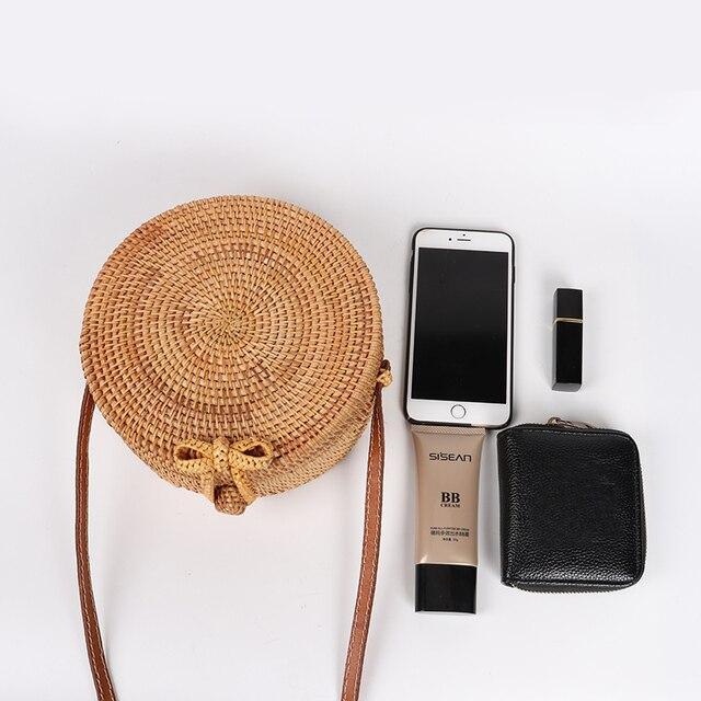 Handmade Summer Rattan Bag 6