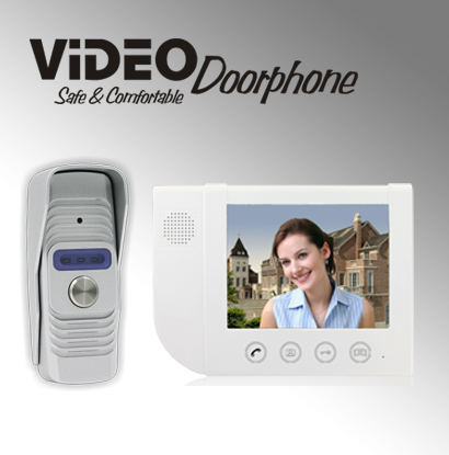 ZHUDELE Home security doorbell 8.3 video door phone metal die-casting ,waterproof explosion-proof 700TVLine HD IR camera 1 V 1