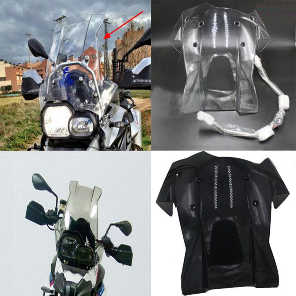 F650GS F800GS Motorcycle Modification Windshield WindScreen W/ Mounting Support Bracket Kit For BMW F 650/800 GS 2008 - 2017