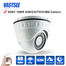 1080P AHD/TVI/CVI/CVBS CCTV camera 4 in 1 Cameras sony imx323 sensor 3.6mm HD 2MP Lens room dome indoor security CCTV