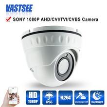 1080 P AHD/TVI/CVI/CVBS камеры ВИДЕОНАБЛЮДЕНИЯ 4 в 1 Камеры sony imx323 датчик 3.6 мм HD 2-МЕГАПИКСЕЛЬНАЯ Линза номер крытый купол безопасности CCTV