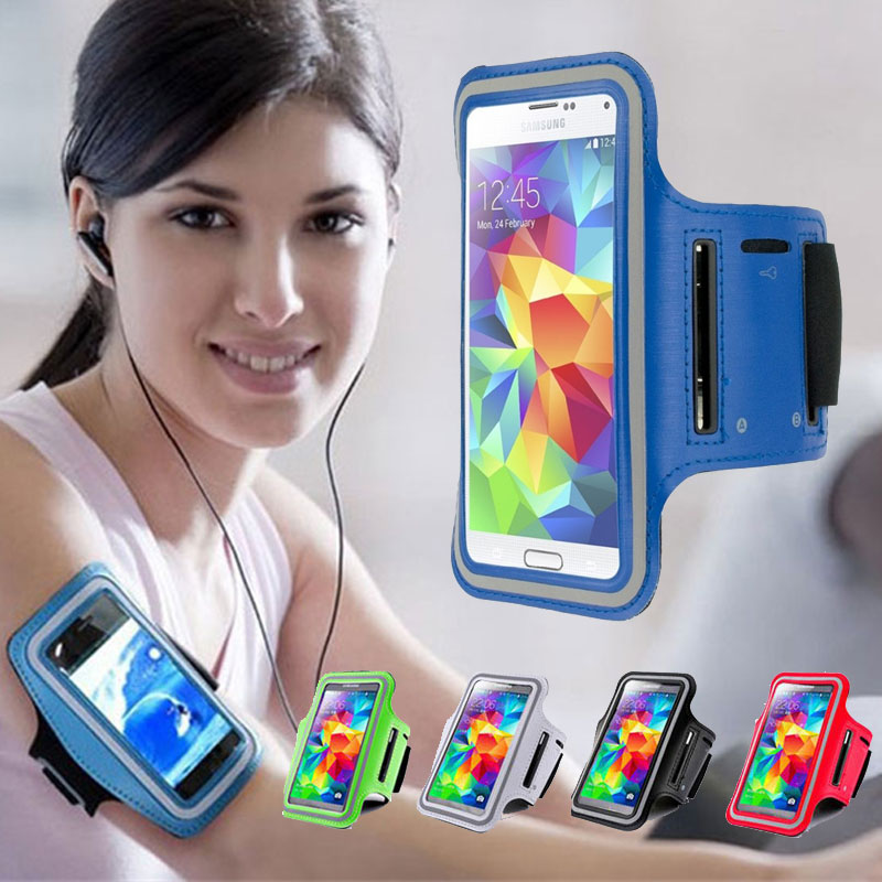 Universal Running Gym Armband Waterproof Bag for iPhone 6 7 8 plus Xiaomi Redmi Note 4 4X 5 Mi A1 A2 Case for Huawei P20 Lite visa