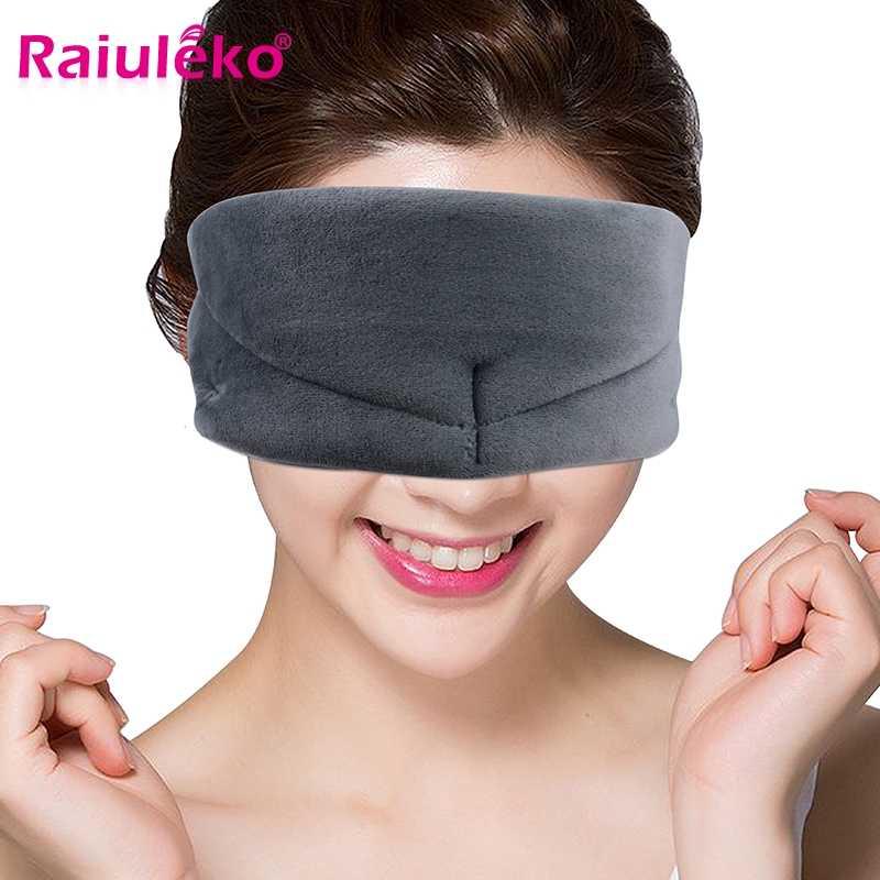 3pcs masque oculaire pour le sommeil r/églable masque pour les yeux dormir masque pour les yeux band/és pour Voyage