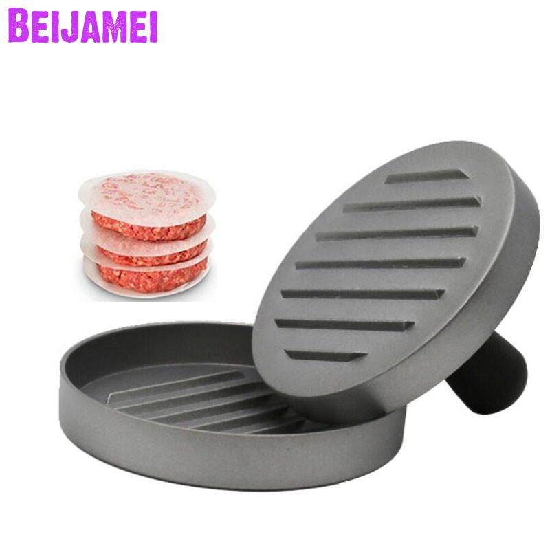 BEIJAMEI High Quality Hamburger Press Patties Maker Mold Patty Meat Burger Press Making Hamburger BurgersBEIJAMEI High Quality Hamburger Press Patties Maker Mold Patty Meat Burger Press Making Hamburger Burgers