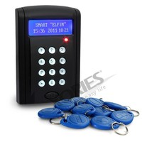 HOMSECUR Economic Door Rfid Proximity Reader Access Control Keypad+10 ID Cards Brand NEW