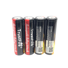 Wholesale TrustFire Protected 18650 Colorful Battery 3.7V 2400mAh Camera Torch Flashlight Li-ion Rechargeable Batteries with PCB singfire 4 x 18650 2400mah rechargeable li ion batteries w protection circuit