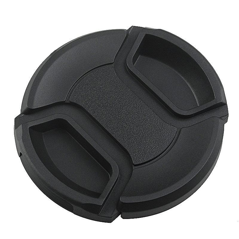 Front Lens Cap Hood Cover Snap-on Protec Cap for Sony Minolta Leica Tamron Canon Nikon Camera Accessories