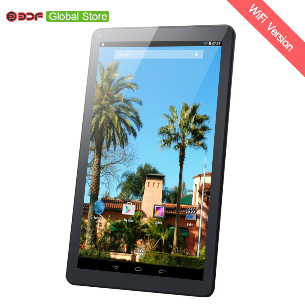 9 Inch WiFi Version Android 4.4 Tablets Pc Support Google Play Market Download Application Program Quad Core 8GB Storage Cheap