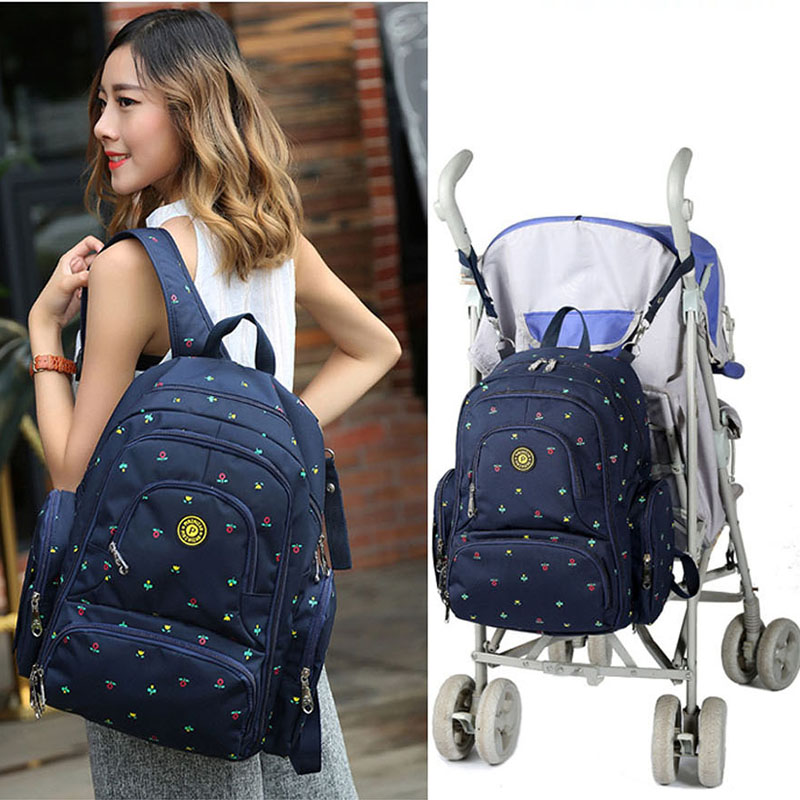 Diaper Bag Mummy Travel Backpack Large Capacity Baby Bag For Stroller Waterproof Backpack Nursing Bag For Baby Care Handbag