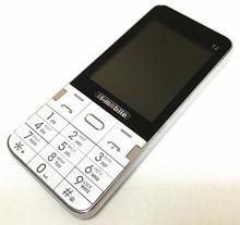 T2 doppelsim doppeleinsatzbereitschaft handy 2,8 zoll bildschirm handy Russische tastatur telefon H-mobile T2