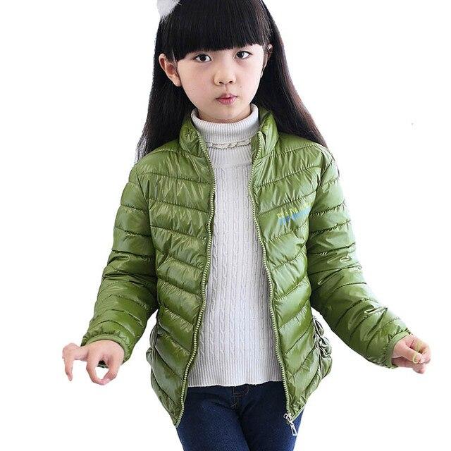2018 invierno niños abrigos para niñas Parkas niños chaquetas para niños  abajo chaqueta para niñas nuevo 43b87fe87b5a7