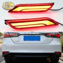 Для Toyota Camry 2018 2019 SNCN мульти-функции автомобиля задний фонарь светодиодный задний противотуманный фонарь бампер автомобильная лампа тормозной фонарь отражатель