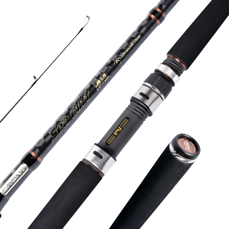 Carbon Fiber Hard Fishing Spinning Rod Carp Fishing Lure Hand Rod Seapole Stream River Pesca Ultra Light Rock Fishing Role|Fishing Rods| |  - title=