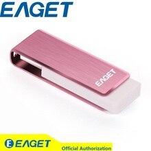 Pareja Pendrive! eaget f50 de alta velocidad usb 3.0 256 gb usb flash drive de memoria metal del palillo pendrive de almacenamiento externo azul rosa 256g